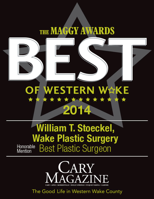 Dr. William T. Stoeckel of Wake Plastic Surgery - Maggy Awards Winner - Best Plastic Surgeon 2014