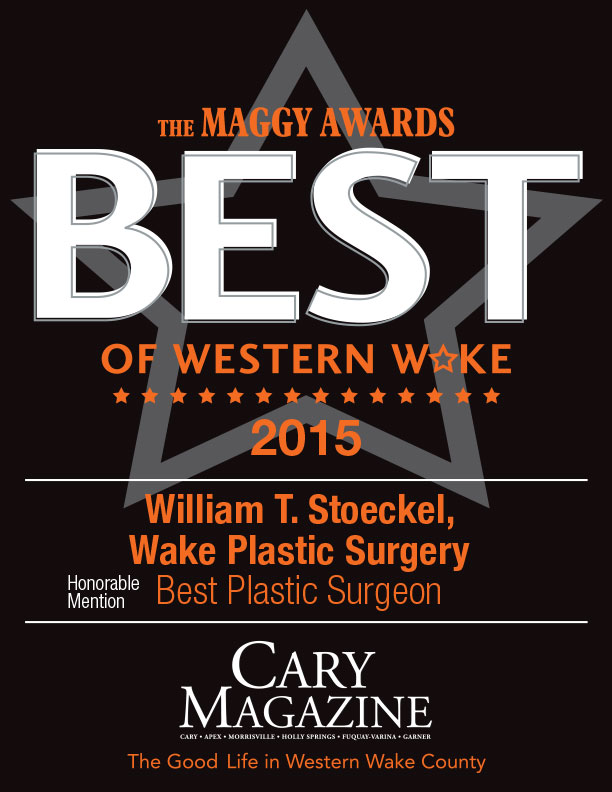 Dr. William T. Stoeckel of Wake Plastic Surgery - Maggy Awards Winner - Best Plastic Surgeon 2015