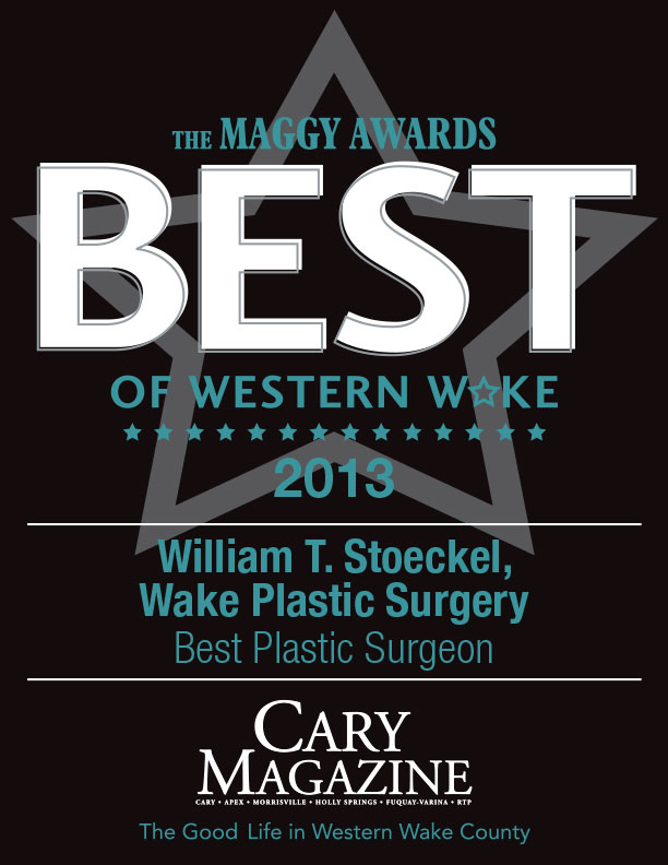 Dr. William T. Stoeckel of Wake Plastic Surgery - Maggy Awards Winner - Best Plastic Surgeon 2013