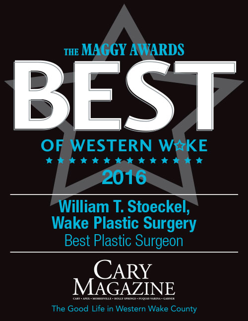 Dr. William T. Stoeckel of Wake Plastic Surgery - Maggy Awards Winner - Best Plastic Surgeon 2016