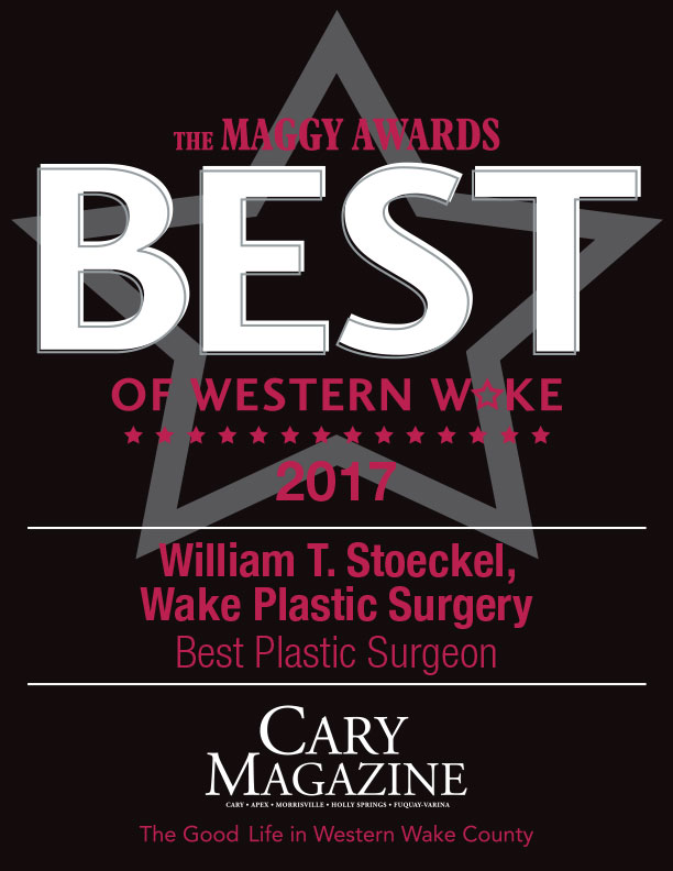 Dr. William T. Stoeckel of Wake Plastic Surgery - Maggy Awards Winner - Best Plastic Surgeon 2017