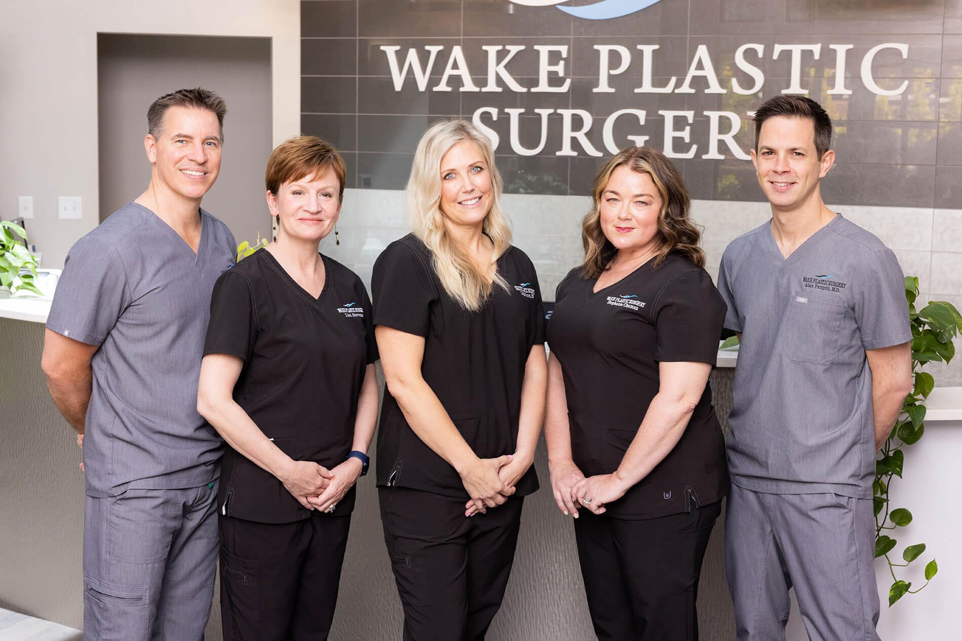 Wake Plastic Surgery, Dr. Stoeckel, Dr. Purzycki and staff